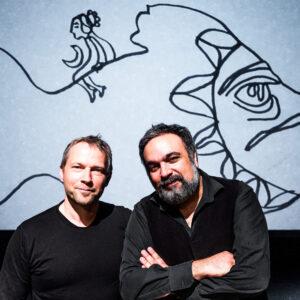 Kurt Holzkaemper und Mehrdad Zaeri